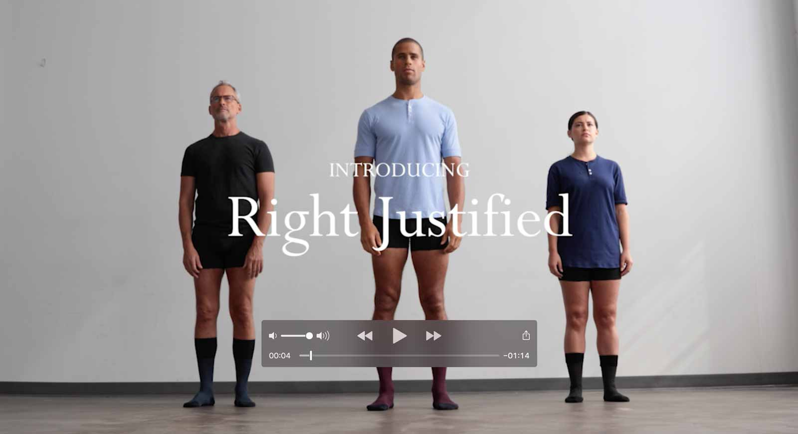 Right Justified Video